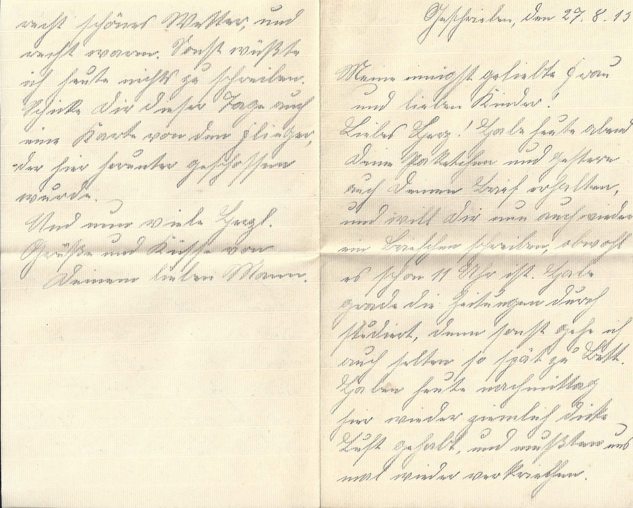 frau kennenlernen brief Oberursel