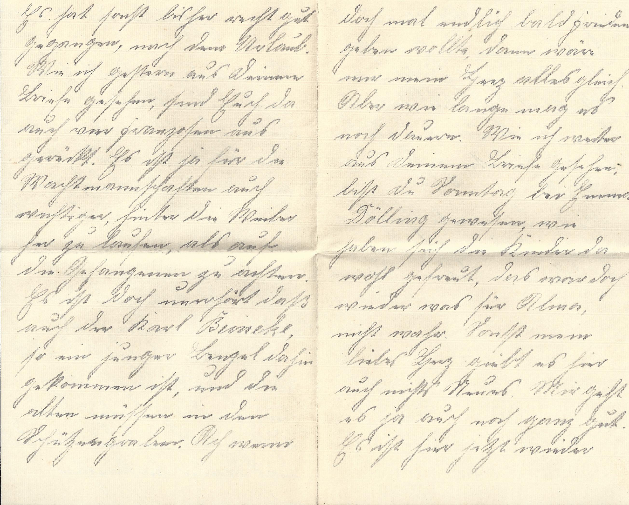Briefe an Soldaten Beispiele