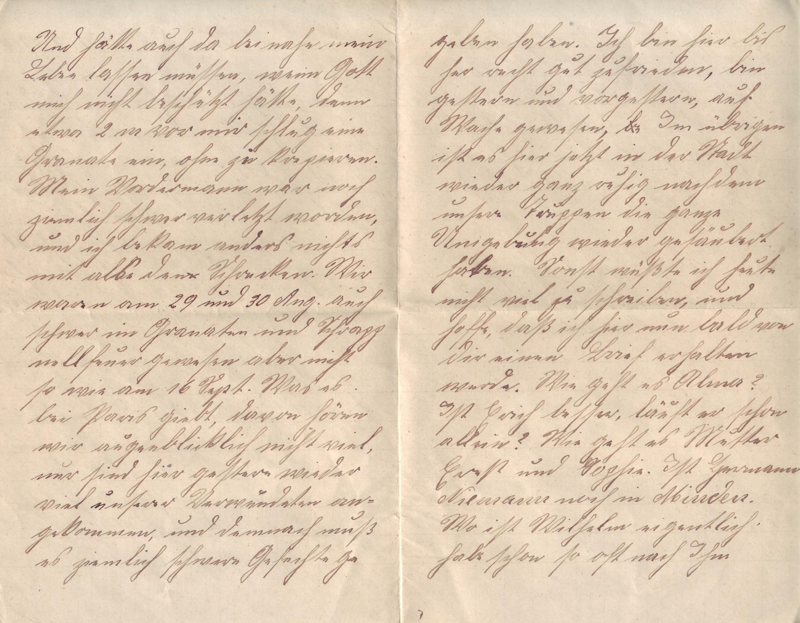 Deutsch - B1 - Wortschatz -Briefe schreiben