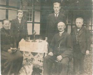 Empfänger der Feldpost von Heinrich Echtermeyer: Familie Bernard Echtermeyer.