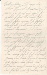 Brief Heinrich Echtermeyers an seinen Bruder, geschrieben am 26.3.1916. Seite 3.