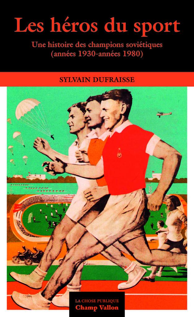 Couverture de Dufraisse, Les héros du sport, 2019
