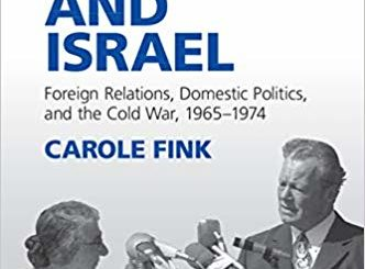 Couverture de Fink, West Germany and Israel, 2019