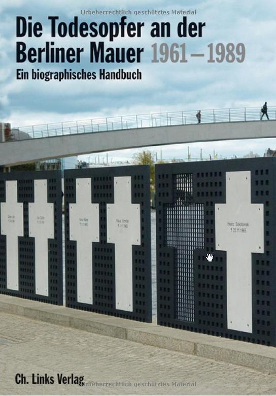 Couverture de Hertle et Nooke, Die Todesopfer der Berliner Mauer, 2019