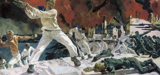 Alexandre Deineka, La défense de Sébastopol, 1942
