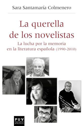 Portada del libro de Sara Santamaría Colmenero: «La querella de los novelistas».