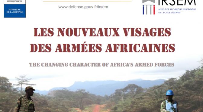 «Les nouveaux visages des armées africaines» – Colloque international le 5 et 6 octobre 2016