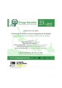 Invitacion La Noche de los LIbros_FOM2015
