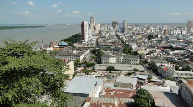 Guayaquil desde el Cerro Szanta Ana