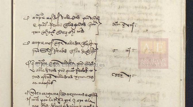 El vocabulario del «Libro de Armadas de la expedición a la Especiería» (1506 / 1508)