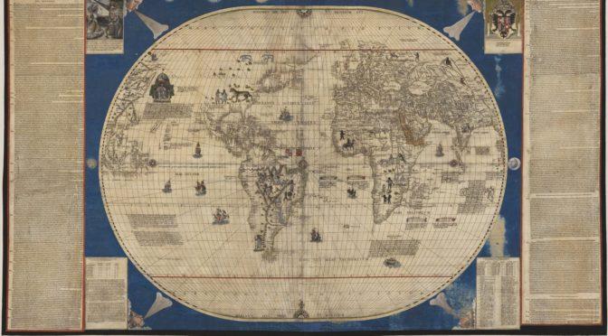 Las tabvlae del mapamundi de Caboto (1544): representación cartográfica y descripción etnográfica