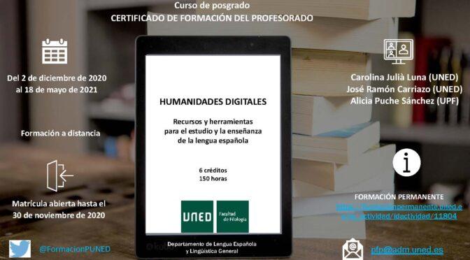 Curso Humanidades Digitales
