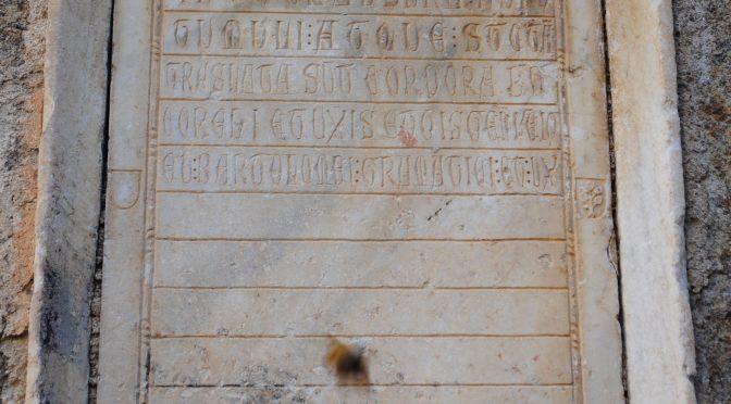 Un nouveau rendez-vous épigraphique annuel à Poitiers
