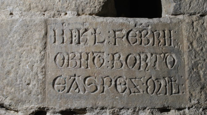 Inscriptions et obituaire – CESCM, 2 juin 2017