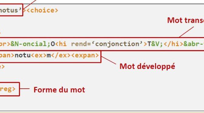 2e journée de formation à l'encodage XML-TEI dans TITULUS