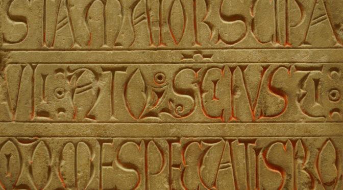 Ecole thématique CNRS en épigraphie médiévale