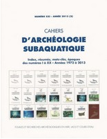 Cahiers d'archeologie subaquatique