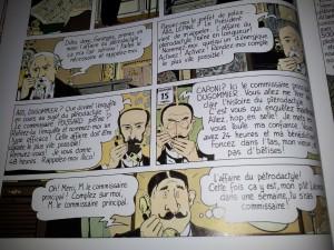 Capture BD Adèle Blanc Sec, T1, p. 10, éditions Casterman