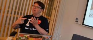 Anne-Marie Eklund Löwinder, Une des 14 personnes dans le monde à détenir une clé de l'Internet