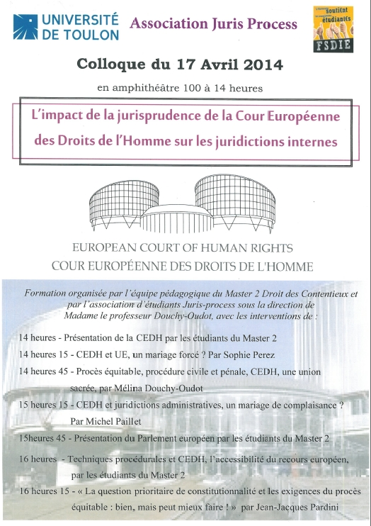 colloque cedh 17 avril 2014