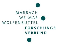 Forschungsverbund Marbach Weimar Wolfenbüttel
