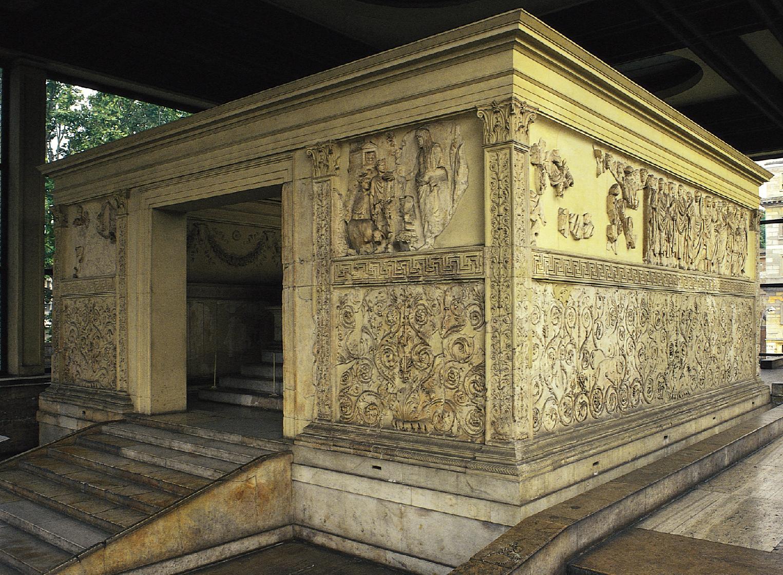 Rome, Ara Pacis, 12-9 avant J.-C.