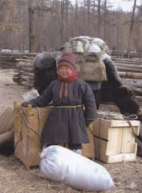 Petite fille mongole