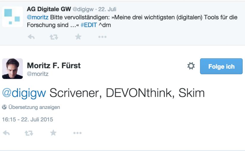 #EDIT-Interview (3) mit Moritz Fürst