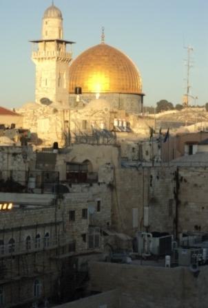 La vieille ville de Jérusalem, décembre 2012, source V. G.