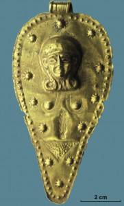 Conical-shaped pendant from Ugarit (15th-13th century)