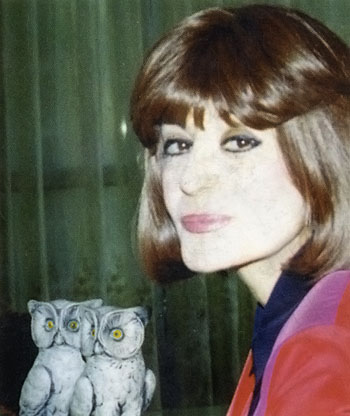 Portrait de l'auteure Ghada al-Samman