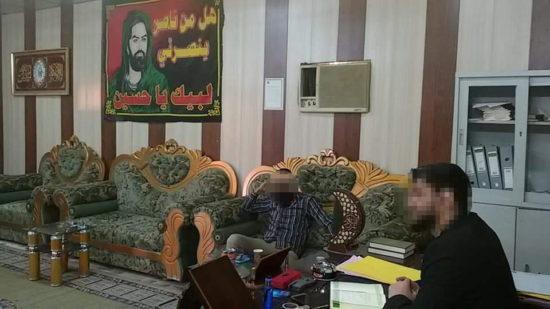Bureau du représentant d'AAH à Tikrit, rue Zohoor, centre-ville, mars 2019, page officielle Facebook d'AAH à Tikrit.