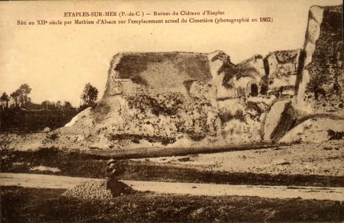 Etaples_ruines_du_château