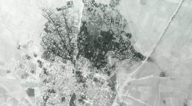 Tiznit en 1971 : photo aérienne