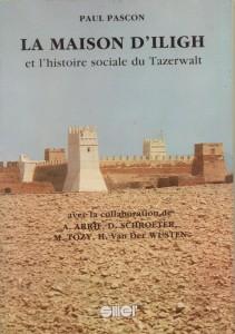 couverture maison d'Iligh histoire sociale Tazerwalt