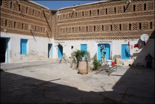 Le houch préservé de Sidi Brahim.