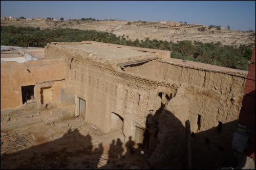 Houch abandonné dans le quartier Ezzaouia.