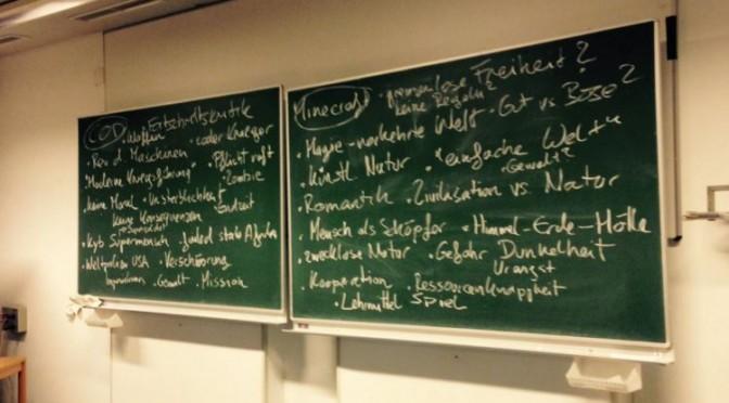 """StudentInnen schreiben Essays: """"Von revoltierenden Maschinen, Supermenschen und Romantikern"""""""
