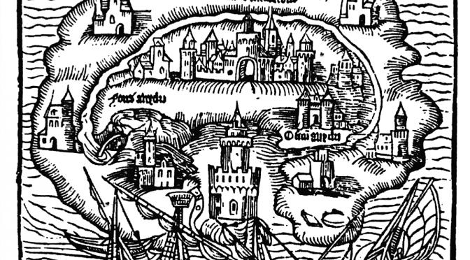 Von Entrückung und mythischer Morgenröte: Utopien und Dystopien im Spiel