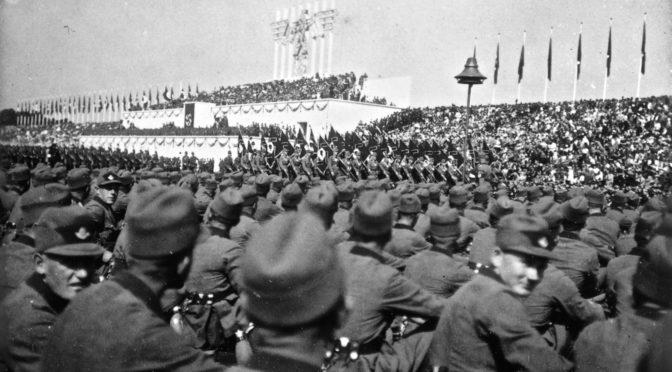 """Über das """"Regime"""", """"Herrn Heiler"""" und die """"Verräter"""": Wolfenstein und die Paragraphen §§ 86 und 86a des StGB"""