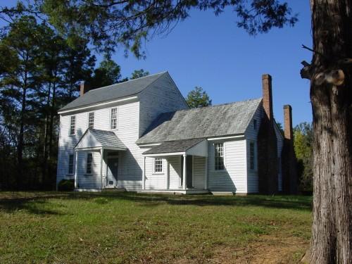 Main House, Stagville Plantation (Durham, N.C.)