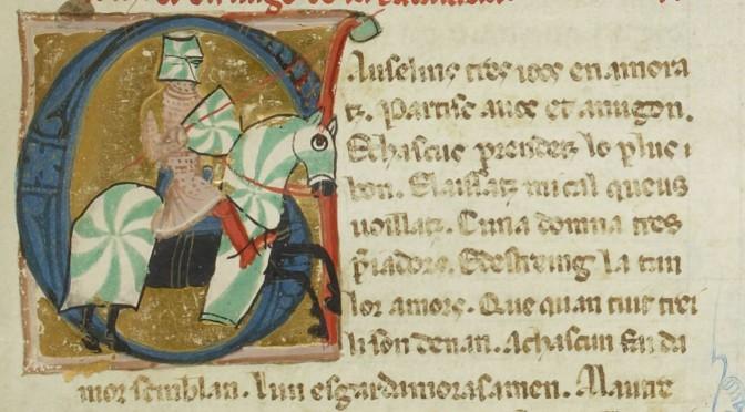 La vida de Savary de Mauléon dans le chansonnier provençal I (BnF ms.fr. 854, f° 152r)
