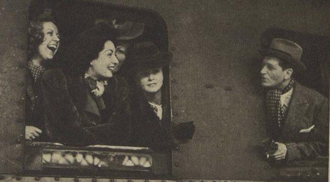 «Rendez-vous d'étoiles à Berlin» dans les actualités filmées, mars 1942