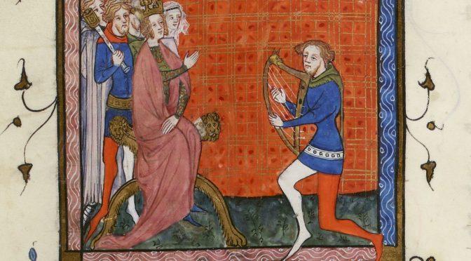 Neuf mois aux côtés d'un ménestrel: l'interrogatoire de Robert Wourdreton (1385)