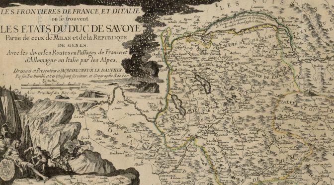 Un marquis à Thônes (1681-1695) : conseil de ville et autorités seigneuriales à travers les archives communales