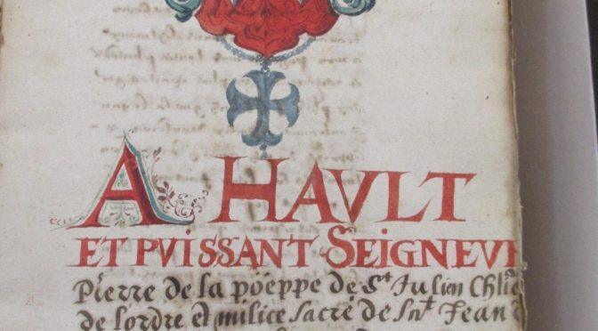 Histoire et architecture des commanderies en Franche-Comté