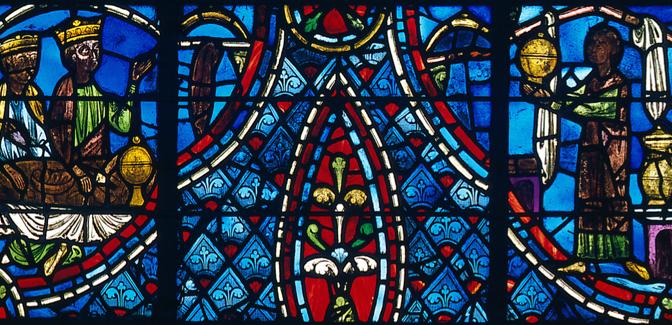Les vitraux légendaires du chœur de la cathédrale de Rouen