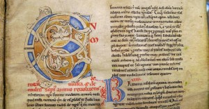 Oxford, Bodleian Library, MS Bodley 514, f. 1r. By permission of the Bodleian Libraries, University of Oxford. Photographer: Jaakko Tahkokallio.