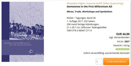 Conference Proceedings Gemstones In The First Millennium