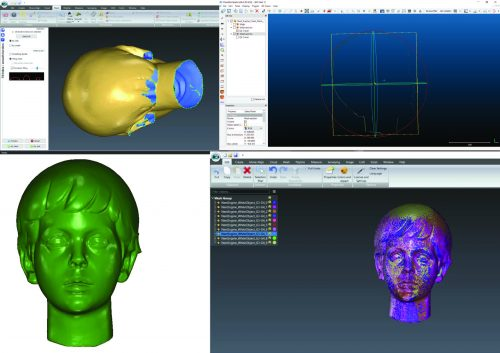 3D modelling sur sculpture (Photo CIPA)